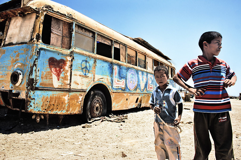 Love Bus and the Goat, Egypt