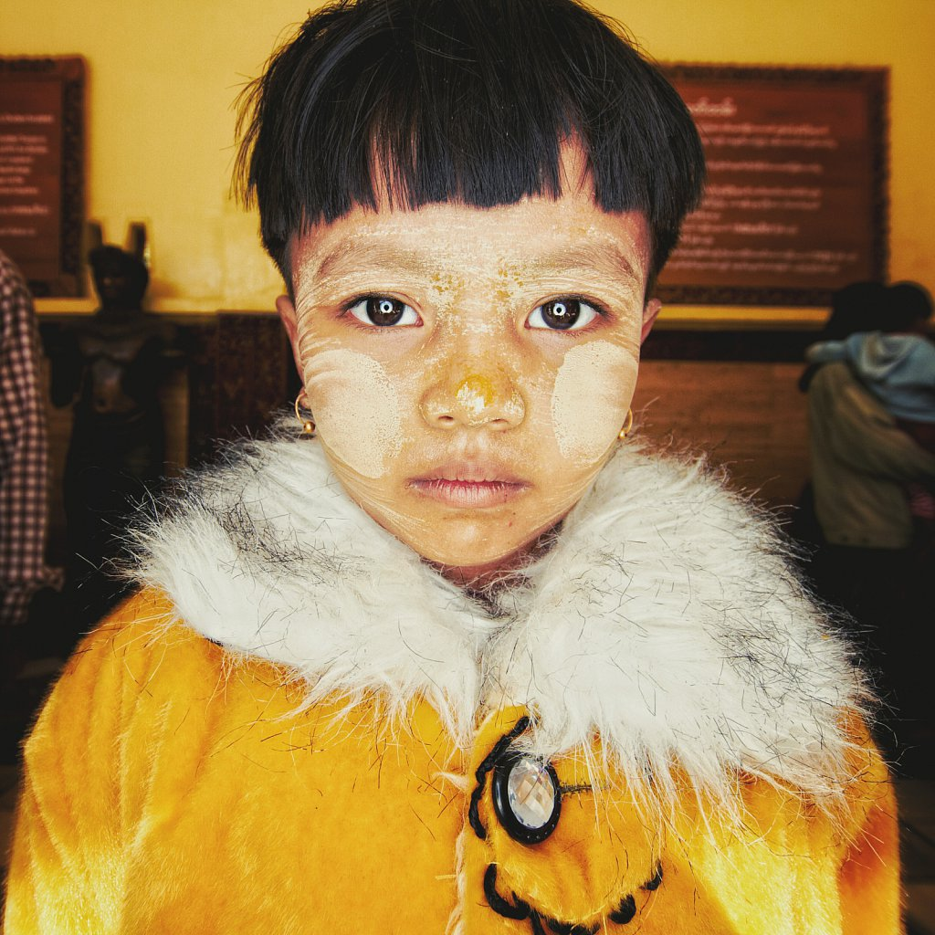 Yellow coat, Burma
