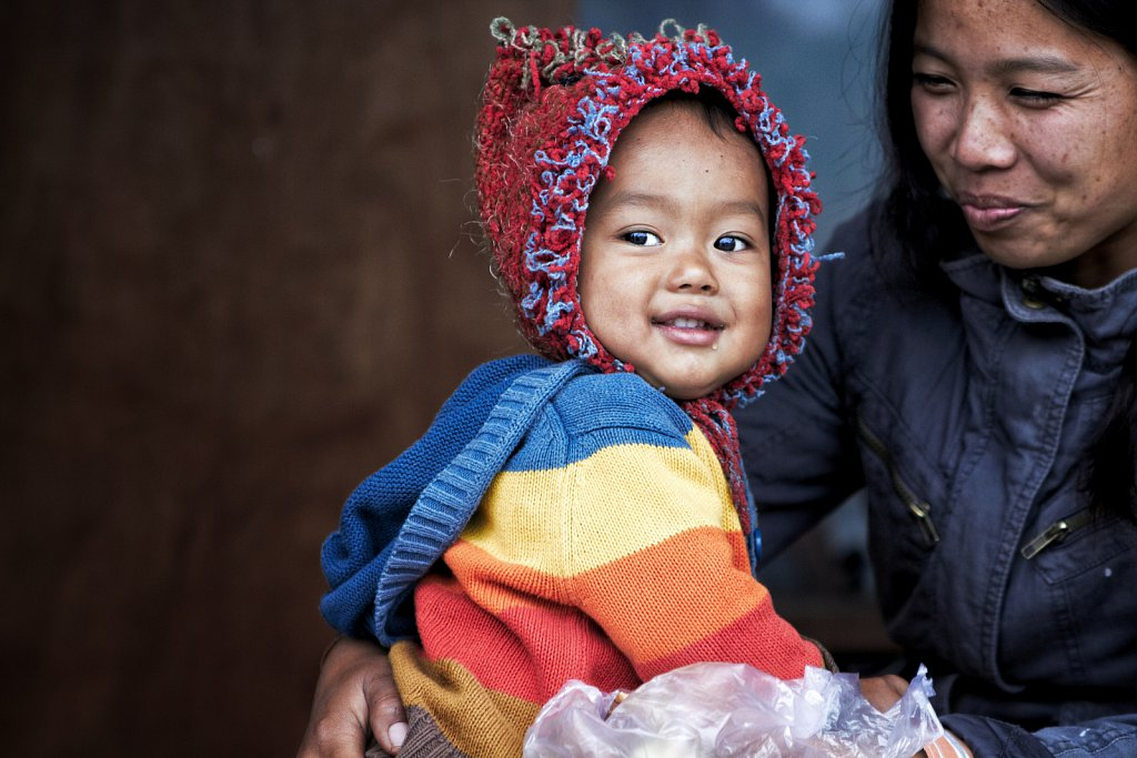Mother and Child, Burma